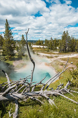 Grand Prismatic Springs-12.jpg (VoxLive) Tags: grandprismaticspring mountains geiser yellowstone travel grandtetons nationalparks