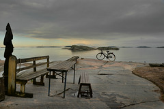 At the end (PentlandPirate of the North) Tags: hanko finland hango suomi bicycle sea coast baltic greenemerald granite tranquility peace relax