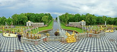 Grand Palace - Peterhof (meren34) Tags: stpetersburg russia palace garden park lake peterhof grand statu statue gold water fountain magnificence