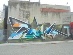 403 (en-ri) Tags: piove lme crew azzurro bianco arancione torino wall muro graffiti writing parco dora
