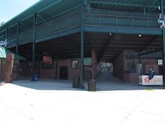 Team Store at Grainger Stadium -- Kinston, NC, June 28, 2018 (baseballoogie) Tags: 062818 baseball baseball18 baseballpark ballpark stadium graingerstadium canonpowershotsx30is downeastwoodducks woodducks carolina league a milb kinston nc northcarolina