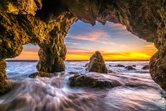Malibu Beach Sunset! Sony A7R2 Red Orange Clouds Sea Cave Landscapes! High Resolution California Sunset Photos! Socal Stormy Skies El Matador Beach Sunset! Dr. Elliot McGucken High Res Fine Art Landscape & Nature Photography Scenic California Sunsets! (45SURF Hero's Odyssey Mythology Landscapes & Godde) Tags: orange seacaves sea cave malibu beach sunset red yellow breaking storm clouds landscapes high resolution california photos socal stormy skies el matador dr elliot mcgucken res fine art landscape nature photography scenic sunsets sony a7rii a7r a7 r a7r2 variotessar t fe 1635mm f4 za oss lens sel1635z 42 mp sunse
