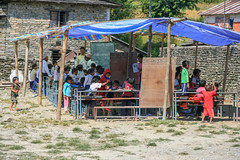 Kaskikot Primary School (RunningRalph) Tags: nepal sarangkot school kaskikot westerndevelopmentregion np