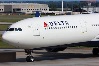 N817NW- Delta Airbus A330-300