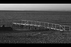 Peter G. K. sunset_at_gilleleje_XI (Peter G. K.) Tags: sunset bnw blackandwhite monochrome beach dawn goldenhour cinematic nopeople sea fujinon canon
