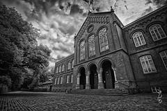 Altes Gymnasium Oldenburg (Bajazzo70) Tags: altesgymnasium baudenkmal oldenburg niedersachsen germany architektur schwarzweiss monochrom einfarbig nikon bnw
