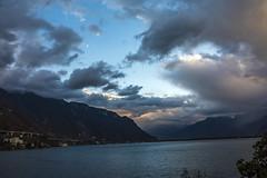 no more than ever (ravenRat) Tags: cloud lake mountain sunset moon sigma35mmart canon5d ravenrat