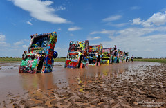 Cadillac Ranch - Route 66 (LocalOzarkian Photography - Ozarks/ Route 66 Photo) Tags: cadillacranch amarillotexas texasroute66 route66 motherroad texas texaspanhandlecadillac paint mud