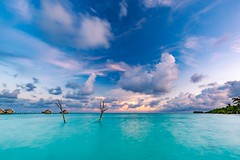 Inspirational tropics (icemanphotos) Tags: solitude relax sea sunset longexposure skyscape inspire canon