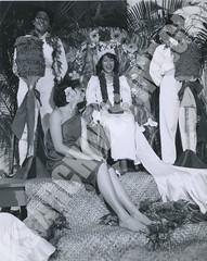 924- 5556 (Kamehameha Schools Archives) Tags: kamehameha archives ksg ksb ks oahu kapalama luryier pop diamond 1955 1956 wendy wilson lei day queen