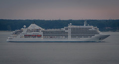 Cruise ship Silver Spirit in Öresund (frankmh) Tags: ship cruiseship silverspirit silversea öresund night