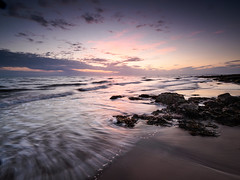 Parton sand and rocks (Alf Branch) Tags: parton partonbeach panasonic beach sea seaside sunset seawaves seascape sand westcumbria water waves wave cumbria clouds rocks rough roughsea leicadg818mmf284 olympus omd olympusomdem5mkii alfbranch landscape irishsea