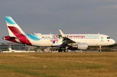 OE-IQD (GH@BHD) Tags: oeiqd airbus a320 a320200 ew ewg eurowings eurowingseurope stn egss londonstanstedairport stanstedairport stansted airliner aircraft aviation specialcolours