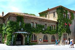 Ciudadela de Carcasona (Francia). (serrvill -Txemari) Tags: hotel carcasona carcassonne francia occitania ciudadela