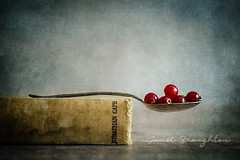 Redcurrants #2 (Janet_Broughton) Tags: lensbaby velvet85 stilllife food foodphotography textured