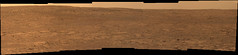 Dusty Mars (sjrankin) Tags: 21july2018 edited nasa mars msl curiosity galecrater sky haze duststorm rocks craterfloor panorama