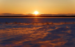 Sunset Saint Marys river (Charlie Whipp) Tags: saint marys river sault ste marie mi