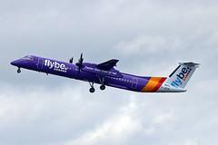 G-JECM DHC-8Q 402 Flybe MAN 18-04-18 (PlanecrazyUK) Tags: egcc manchester man ringway manchesterairport gjecm dhc8q402 flybe 180418