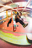 Kickflip Airwalk to Fakie (brendon_curtis) Tags: canon 5dmkiii eos usm 15mm f28 fisheye lens skate skateboard skater shred skating gnar flash strobist strobes