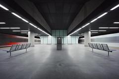 the matrix (christian mu) Tags: köln cologne germany underground urban longexposure subway ubahn metro haltestellechlodwigplatz chlodwigplatz christianmu batis 252 25mm batis252 zeiss sony sonya7riii sonya7rm3 architecture