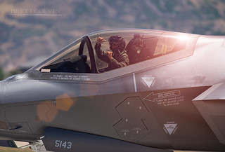 When You Just Flew a F-35 Pretty Hard