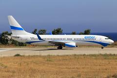 Enter Air  Boeing 737-8AS SP-ENT (widebodies) Tags: rhodos rhodes rho lgrp widebody widebodies plane aircraft flughafen airport flugzeug flugzeugbilder enter air boeing 7378as spent