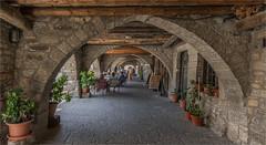 Arcaded Main Square of Ainsa. (LDLS17) Tags: ainsa plazaporticada huesca plazamayordeainsa arcadedsquare