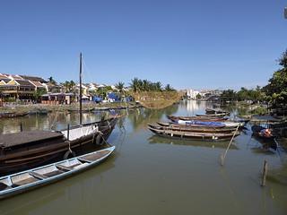 Río Thu Bon, Hoi An, Vietnam