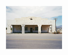 ** (ha*voc) Tags: mamiya7ii 65mm rangefinder film 120 mediumformat 6x7 kodakektar100 urban urbandecay usa california deathvalley