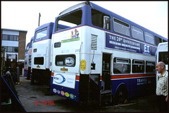 2772 (A772 WVP) ((Stop) The Clocks) Tags: 2772 scrap wmpte twm millerstreet withdrawnbuses scrapbuses a772wvp mcw mcwmetrobus