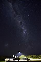Fishing under the stars (Aaron Trombetta) Tags: astro austalia d750 20mm longexposure light nikon peninsula southaustralia sa stars nightphotography yorkpeninsula