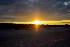 Great Yarmouth Beaches (Laura Cooper94) Tags: light orange natural twilight evening landscape amateur d3300 nikon england coast norfolk greatyarmouth sea sand sunset sun beach