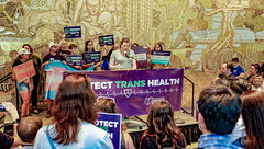 2018.07.17 #ProtectTransHealth Rally, Washington, DC USA 04745