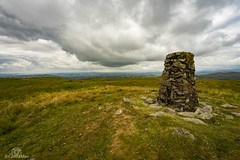 Incoming Showers... (CamraMan.) Tags: clouds weather trigpoint grayriggforesttrigpoint cumbria howgills sonya7 fotodiox canon1740mmlusm benbo tripod ©davidliddle ©camraman