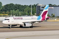 OE-LYZ (PlanePixNase) Tags: eddv haj hannover airport aircraft planespotting eurowings a319 airbus oelyz langenhagen