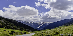 Vall d´Ingles (Antoni.Vallejo) Tags: andorra landscape panorama mountain montagna trekking nature natura cielo clouds nuvole summer walk raw nikon lights paesaggio land landschaft europe green blue flowers road art new nikkor wonderful natur amateur paisaje montaña tamronaf18270mmf3563