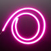 Flexible Silicone Neon-Like LED Strip - 1 Meter pink