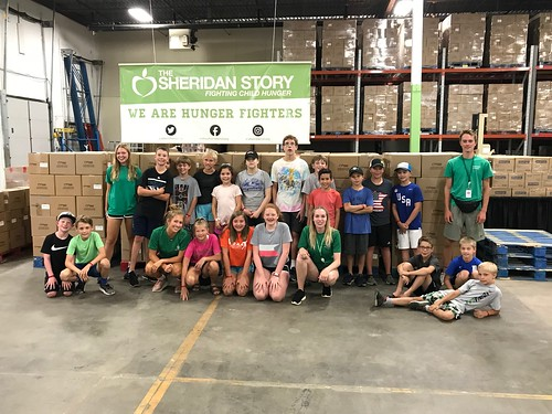 Edina Parks & Rec Packing Event 7/25/18: Day 1