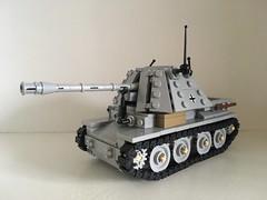 Marder III Ausf H (Wehrabricks) Tags: lego german marder iii ausf h wwii tank destroyer