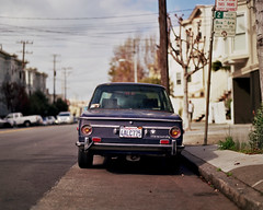 BMW 2002 in the Mission (SmittyNC) Tags: bmw 2002 roundie mission district