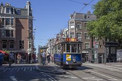 Een Union in de Utrechtsestraat (Tim Boric) Tags: amsterdam utrechtsestraat brug prinsengracht tram tramway streetcar strassenbahn union 144 gemeentetram gvb