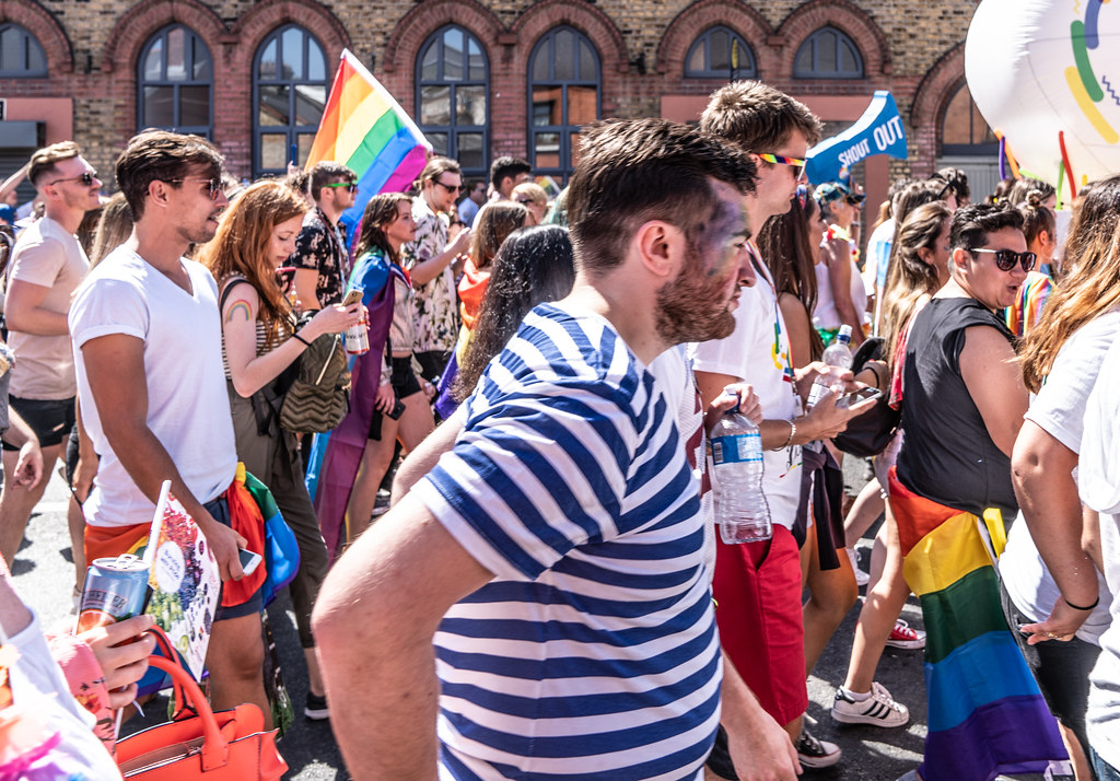 ABOUT SIXTY THOUSAND TOOK PART IN THE DUBLIN LGBTI+ PARADE TODAY[ SATURDAY 30 JUNE 2018] X-100248