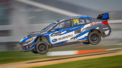 Chris Atkinson Subaru Rally Team USA WRX STI (jdl1963) Tags: motor sports motorsport car racing 2018 fia world rally cross championship silverstone chris atkinson subaru team usa wrx sti jump air flying motion blur pan panning