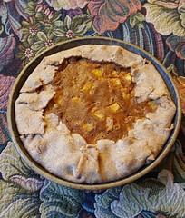 Pineapple custard pie with date sugar & whole wheat (ulmerigel) Tags: pie pineapple custard wholewheat datesugar