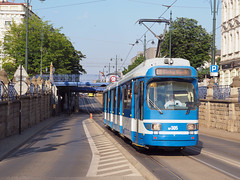MPK RF305 (jvr440) Tags: tram trolley strassenbahn kraków główny mpk duewag gt8s