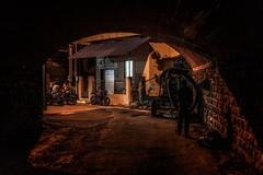 Mumbai shadows (reinaroundtheglobe) Tags: mumbai india night nightphotography streetphotography streetscene tunnel dark people shadows
