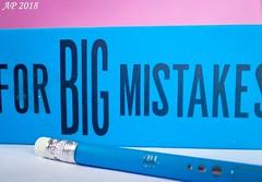 C'est une erreur / It's a mistake (Anne_FR) Tags: eraser gomme macromonday macro crayon pencil