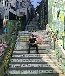 Escadaria do Patápio, Vila Madalena, São Paulo, Brazil.