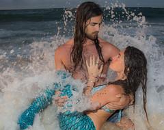 mermaid action (bluewavechris) Tags: hawaii oahu northshore water ocean sea model sex sexy bikini mermaid playtime fun