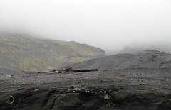 Mordor (bd168) Tags: landscape mountainside fog sky mountain volcan volcano lave lava lichen xt10 xf50mmf2rwr